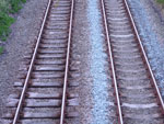 Railroad tracks - istock